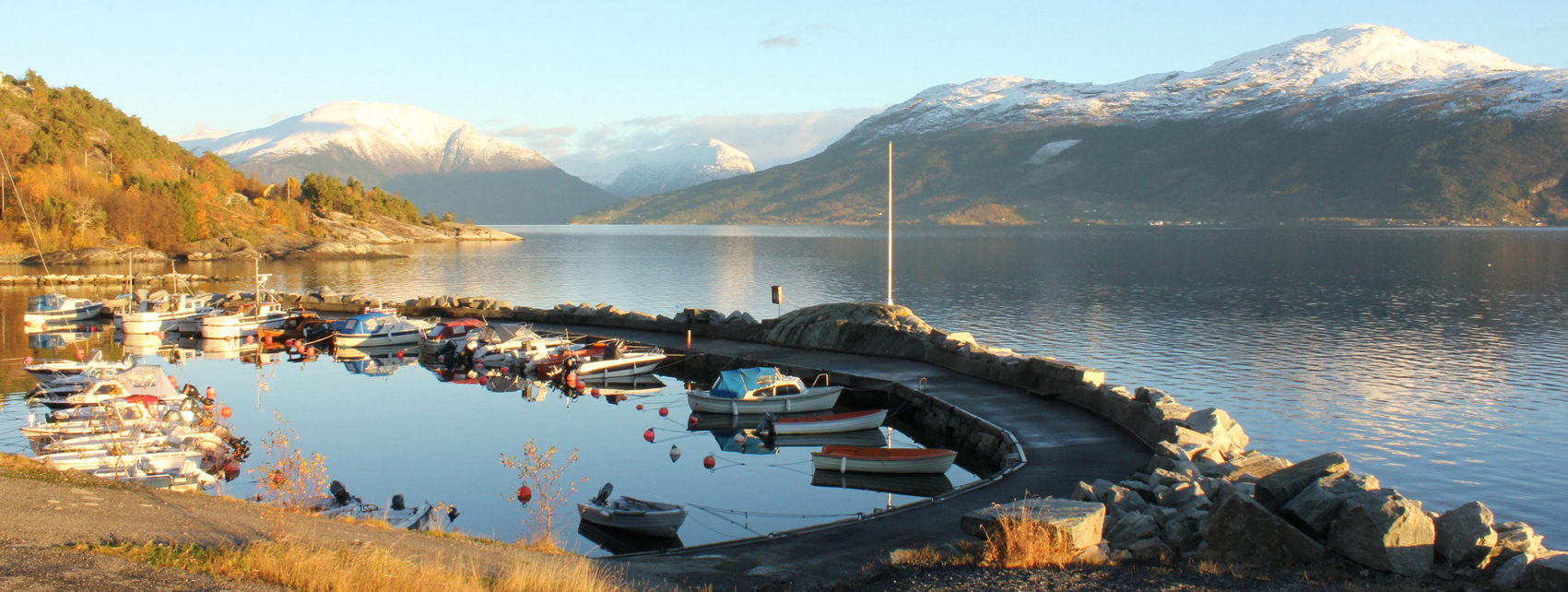 Ålvik harbour