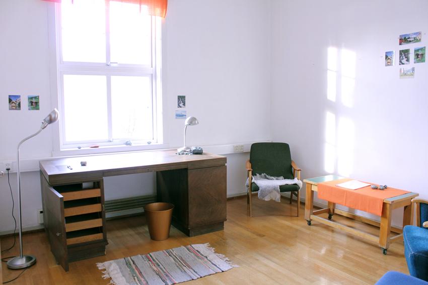 Writers studio, ground floor